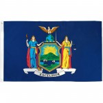 New York State 3' x 5' Polyester Flag