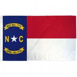 North Carolina State 3' x 5' Polyester Flag