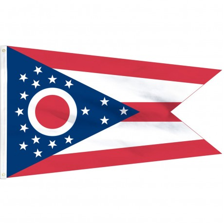 Ohio State 3' x 5' Polyester Flag