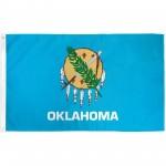 Oklahoma State 3' x 5' Polyester Flag