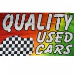 Quality Used Cars 3' x 5' Polyester Flag