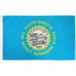 South Dakota State 3' x 5' Polyester Flag