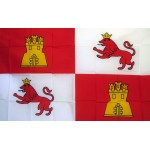 Spain Lions & Castle 3' x 5' Polyester Flag