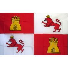 Spain Lions & Castle 3' x 5' Polyester Flag