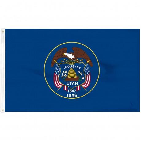Utah State 3' x 5' Polyester Flag