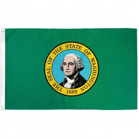 Washington State 3' x 5' Polyester Flag