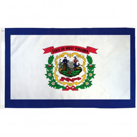 West Virginia State 3' x 5' Polyester Flag