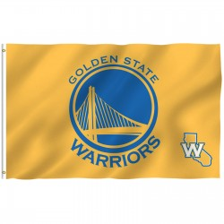 Golden State Warriors 3' x 5' Polyester Flag