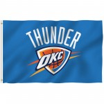 Oklahoma City Thunder 3' x 5' Polyester Flag
