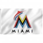 Miami Florida Marlins 3' x 5' Polyester Flag