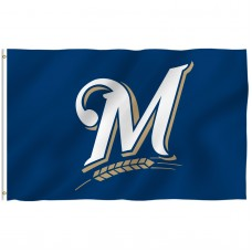 Milwaukee Brewers 3' x 5' Polyester Flag