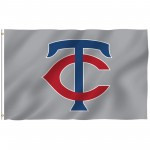 Minnesota Twins 3' x 5' Polyester Flag