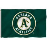 Oakland Athletics 3' x 5' Polyester Flag