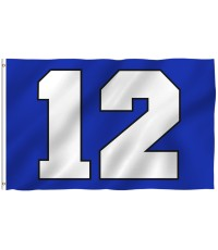 Seattle Seahawks Big 12 3' x 5' Polyester Flag
