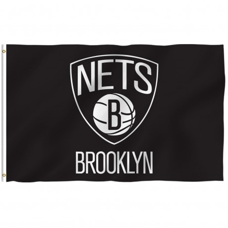 Brooklyn Nets 3' x 5' Polyester Flag
