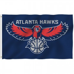 Atlanta Hawks 3' x 5' Polyester Flag
