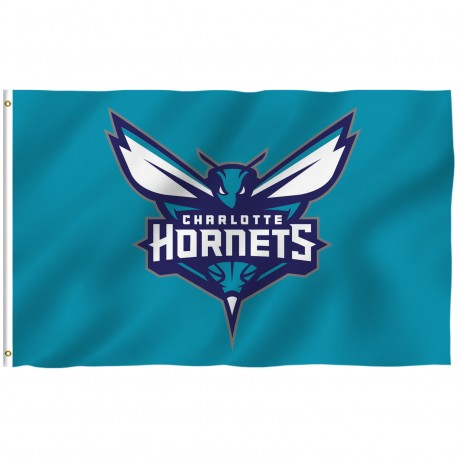 Charlotte Hornets 3' x 5' Polyester Flag