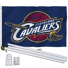 Cleveland Cavaliers 3' x 5' Polyester Flag, Pole and Mount