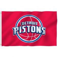 Detroit Pistons 3' x 5' Polyester Flag