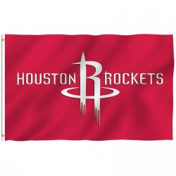 Houston Rockets 3' x 5' Polyester Flag