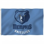 Memphis Grizzlies 3' x 5' Polyester Flag