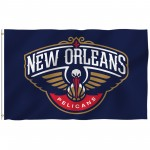 New Orleans Pelicans 3' x 5' Polyester Flag