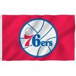Philadelphia 76ers 3' x 5' Polyester Flag