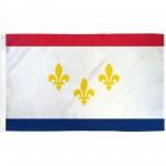 New Orleans Louisiana 3' x 5' Polyester Flag