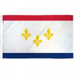 New Orleans Louisiana 3' x 5' Polyester Flag