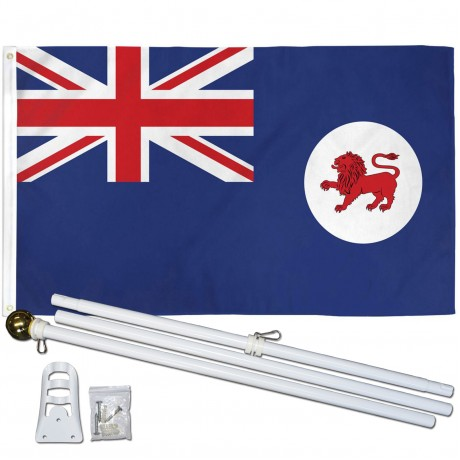 Tasmania 3' x 5' Polyester Flag, Pole and Mount