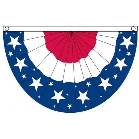 USA Stars 3' x 5' Bunting Polyester Flag