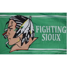 Fighting Sioux 3' x 5' Polyester Flag