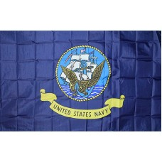 Navy 3' x 5' Polyester Flag