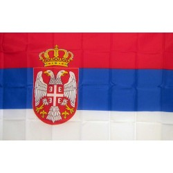 Serbia 2' x 3' Polyester Flag
