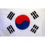 South Korea 2' x 3' Polyester Flag