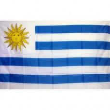 Uruguay 2' x 3' Polyester Flag