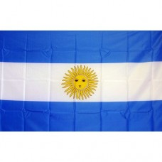 Argentina 2' x 3' Polyester Flag