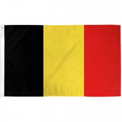 Belgium 2' x 3' Polyester Flag