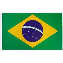 Brazil 2' x 3' Polyester Flag