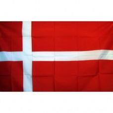 Denmark 2' x 3' Polyester Flag