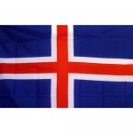 Iceland 2' x 3' Polyester Flag