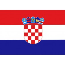 Croatia 3' x 5' Polyester Flag