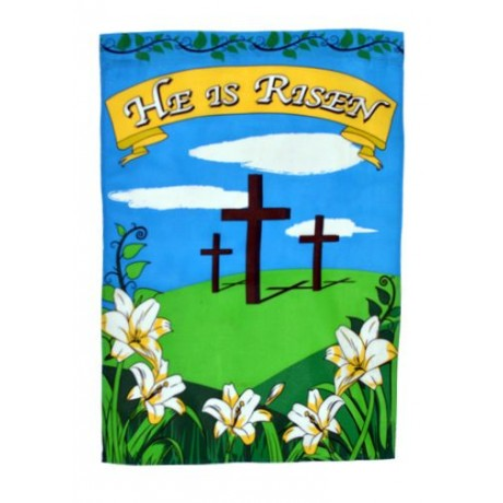 Easter He Is Risen 2' x 3' Nylon Flag