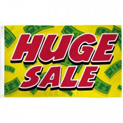 Huge Sale Yellow Cash 3' x 5' Polyester Flag