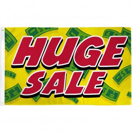 Huge Sale Yellow Cash 3' x 5' Polyester Flag