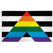Gay Straight Alliance Pride 3' x 5' Polyester Flag