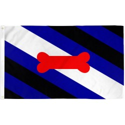 Puppy Pride 3' x 5' Polyester Flag