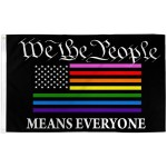 We The People Rainbow Pride 3' x 5' Polyester Flag