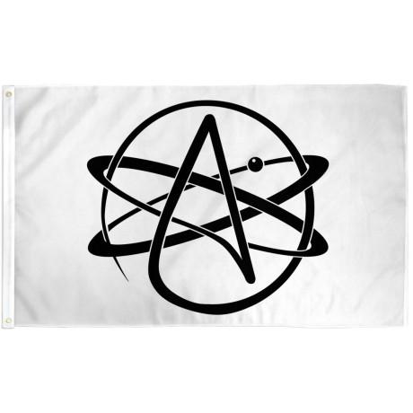 Atheist 3' x 5' Polyester Flag