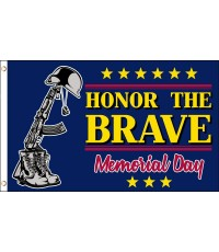 Memorial Day Honor The Brave 3' x 5' Polyester Flag
